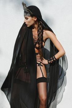 Image of Lustful Bra - black