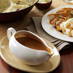 Foolproof Gravy Recipe -Make your Thanksgiving or other special-occasion dinner easy with this can't-miss recipe. Use the drippings from your roasted turkey, and the gravy is done in just 20 minutes. —Edie DeSpain, Logan, Utah