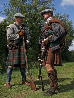 Colonel William Gordon's Company of Foote, a Highlander Royalist unit of the English Civil War