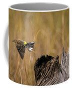 Flight Of The Driftwood Butterbutt Coffee Mug by Bill And Deb Hayes