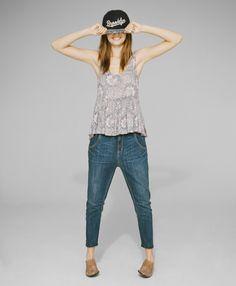 Denim Lookbook #urbanoutfitters #shadesofblue #denim