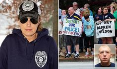 EXCLUSIVE: Darren Wilson's '$1 million' war chest revealed by woman organizing support for officer - and who says: 'Michael Brown made a bad choice that day.'