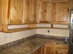Tutorial: extra cabinet space under kitchen or camper (lip on bottom edge or magnet door closures) cabinets) for spices, measuring cups....