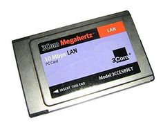 3Com Megahertz 10 Mbps LAN PC Card 3CCE589ET Ethernet PCMCIA Adapter #3Com
