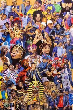 The Real Hip-Hop — Leyendas Del #HipHop
