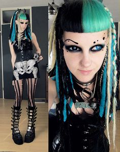 #Goth girl Psychara