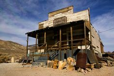 Rhyolite, Nevada | 11 Stunning Images Of Nevada's Ghost Towns