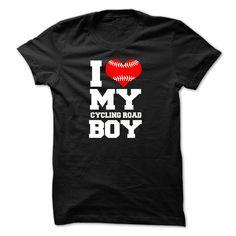 I love my CYCLING ROAD boy T-Shirts, Hoodies. GET IT ==► https://www.sunfrog.com/Sports/I-love-my-CYCLING-ROAD-boy.html?id=41382