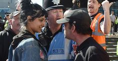 Saffiyah Khan said she felt compelled to step in when Ian Crossland and over 20 of his supporters confronted a Muslim woman