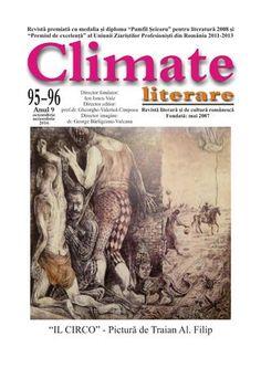 Climate literare 95- 96, 2016
