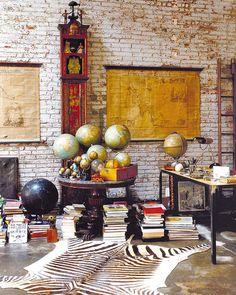 Décoration Inspiration Voyage Loft - Eclecticrevisited