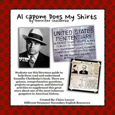 essay questions for al capone does my shirts