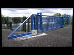 Gate Wall Design, House Gate Design, Budha Painting, Sliding Gate Opener, Aluminium Gates, Farm Gate, Gate Hardware, Concrete Fence, Driveway Gate