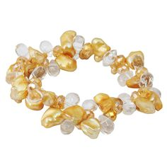 Fashion Baroque Statement Pearl Bracelet
