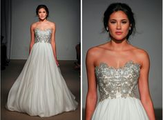 ullamaija...Gorgeous. Work with your seamstress to achieve this look for your wedding day & budget.