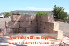 Aussietecture natural stone supplier has a unique range natural stone products for walling, flooring & landscaping. Sandstone Cladding, Natural Stone Cladding, Sandstone Paving, Natural Stone Wall, Natural Stones, Brisbane, Sydney, Sandstone Fireplace, Stone Supplier