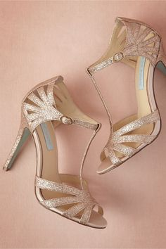 Stardust Heels in Shoes & Accessories Shoes at BHLDN