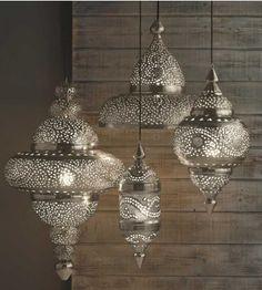 Luminária turca hall interno