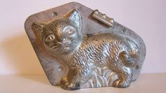 Antique Vintage Cat Kitten Chocolate Mold German Signed Anton Reiche | eBay