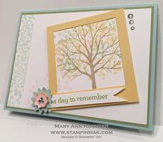 Spring Color Sheltering Tree | StampinMak