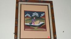999719 $2250 or best offer - training guide for newly weds - hand made antique - framed  FREE SHIP WORLDWIDE FROM COSTA RICA A