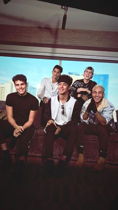 Prob one of my faveeeeeee pics of the boys since they are all smiling and looking so happy and adorable. O Love, I Love You All, Cnco Richard, 23 November, Ricky Martin, My Photos, Couple Photos, Latin Music, Celebrity Outfits