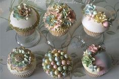 HOME DZINE RECIPES AND COOKING TIPS |  Cupcakes... too gorgeous to eat!