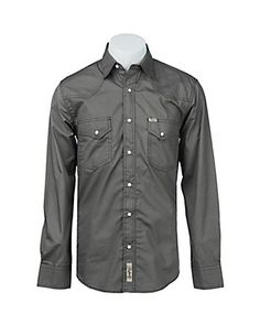 Rafter C Cowboy Collection Men's L/S Western Snap Shirt RC1541005