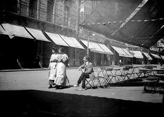 León, fotos antiguas, calle ancha, 1910