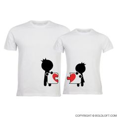 Complete My Heart™ Couple T-Shirts