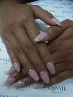 Curved, simple, elegant nails