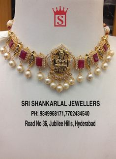 Exquisite Handcrafted Nakshi Dandapatti Jewellery at reasonable wastage and making charges!Please Visit Store to See Complete Collections For any further information Please Contact 7702434540 /// 18 October 2019 Antique Jewellery Designs, Gold Jewellery Design, Bead Jewellery, Temple Jewellery, Gold Choker Necklace, Gemstone Necklace, Gold Jewelry Simple, Jewelry Model, Schmuck Design