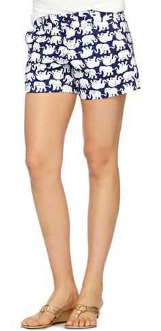 Lilly Pulitzer Callahan Short in Tusk In Sun