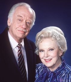 The original Edward Quartermain (David Lewis) and long- suffering Wife Lila (Anna Lee), from General Hospital.
