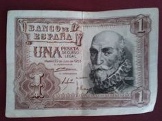 una peseta