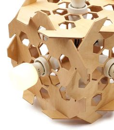 Coordinate Collection by Praktrik - The Coordinate collection by Praktrik features puzzle-inspired pieces that are made from interlocked elements. These compact pieces are made of fla...