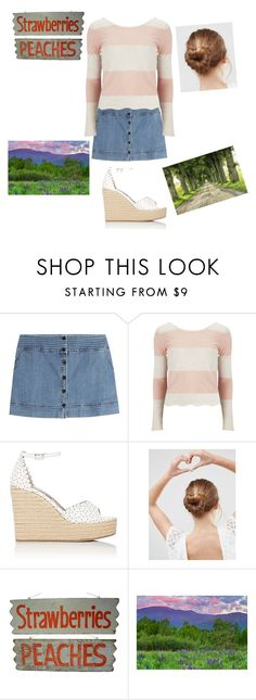 """A day at the farm"" by mebf03 ❤ liked on Polyvore featuring interior, interiors, interior design, home, home decor, interior decorating, Vanessa Bruno Athé, Vero Moda, Tabitha Simmons and ASOS"