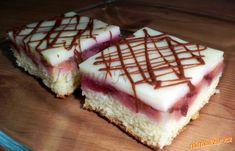 Obrácený švestkový koláč  s pudinkem