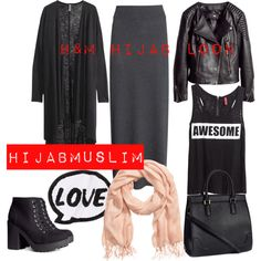"""Hijabmuslim"" by meriemmoufid on Polyvore"
