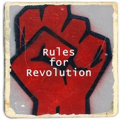 The Rules For Revolution: Fact Or Coincidence Today #coincidence #revolution