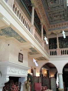 A post on the gorgeous decorative painting and design elements of the Great Hall in Sarasota's Ca' d'Zan.