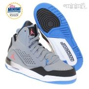 best service fd5a9 8409f Nike Air Jordan GS - Chaussures enfant du 36 au 40 - Gris, noir et bleu