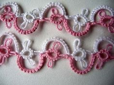 Handmade Tatting Lace by ShopGift on Etsy
