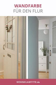 Der Flur ist der erste Raum, in dem wir unsere Gäste in Empfang nehmen. Bei uns ist es Zeit für eine neue Wandfarbe im Flur.