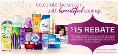 The Binder Ladies - Saving you more so you can spend less! : P: $15 Rebate When You Spend $50 - AFTER Coupons!!