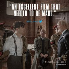 A film for audiences everywhere. Discover the story of #TheImitationGame on November 28.  #BenedictCumberbatch