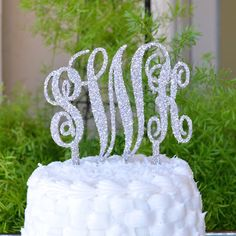 Custom Wedding Caketopper
