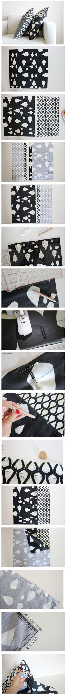 Como Fazer Capa de Almofada Estilosa com Botões