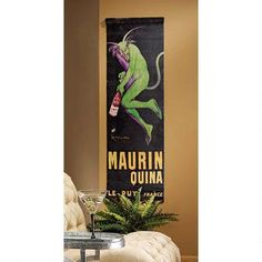 Maurin Quina Devil Canvas Wall Hanging Was: $74.95           Now: $49.95
