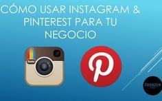 Una guía, en forma de presentación, con todos los consejos a seguir para usar Instagram y Pinterest para promocionar nuestro negocio en la red.